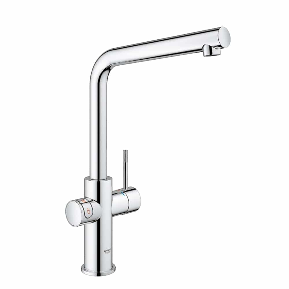Grohe Red duo kraan met L uitloop chroom