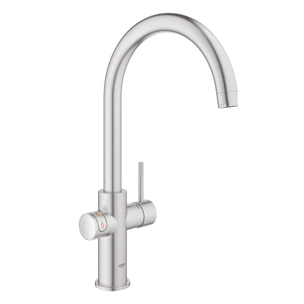 Grohe red duo kraan supersteel